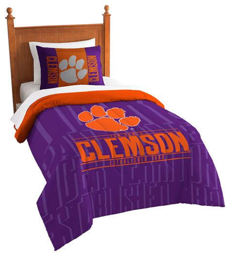 clemson comforter clemson modern take twin comforter set comforters and