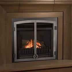 Gas Fireplace Doors by Valor Horizon With Fenderfire Doors Gas Zero Clearance Fireplace Fergus Fireplace