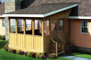 Diy Sunroom Plans Project Plan 90013 Three Season Porch