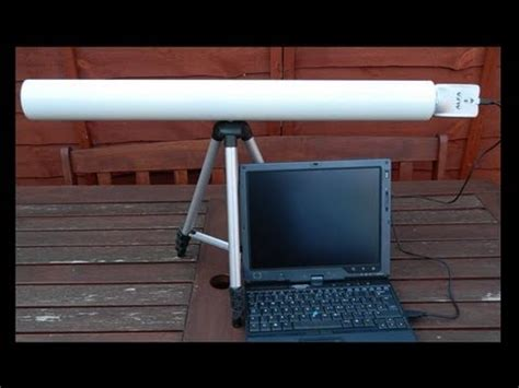 long range yagi antenna  element  ghz youtube