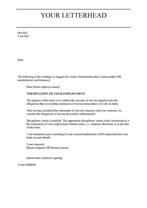 termination letter poor performance scrumps