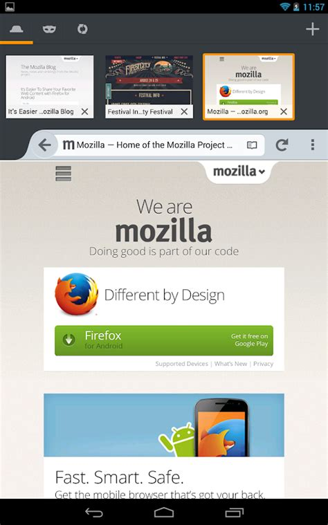 mozilla firefox for android firefox browser for android android apps on play