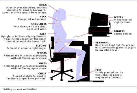 how does body comfort work workstation ergonomics back health medbroadcast com