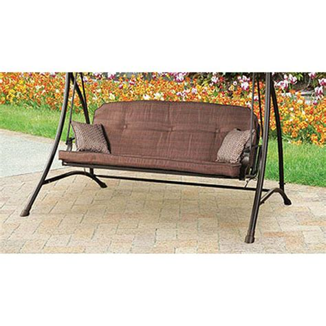 walmart swing cushion replacement wentworth swing replacement cushion garden winds