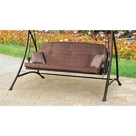 swing cushions walmart wentworth swing replacement cushion garden winds