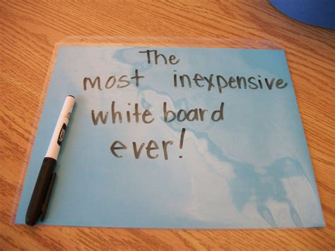 How To Make A Board Out Of Paper - how to make a whiteboard hecoa