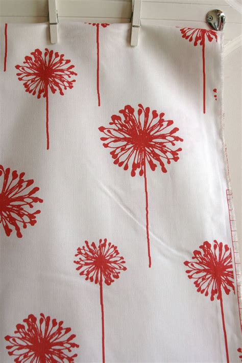 home decor weight fabric coral dandelion home decor weight fabric from by sewfinefabric