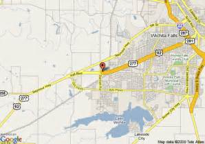 map of inn express hotel suites wichita falls