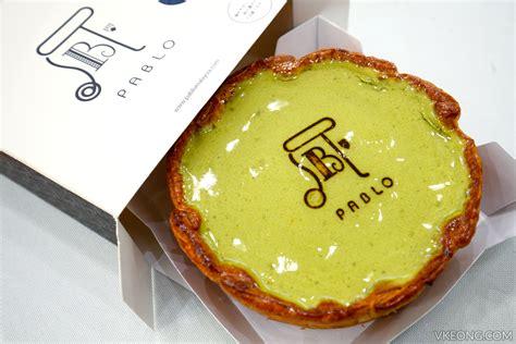Pablo Sabrel Cheese Matcha Original Japan pablo baked matcha cheese tart available 11 jan 2017 1 utama