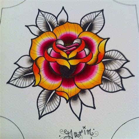 rose tattoo flash art 1000 images about flower on sailor