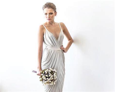 L 815 White Dress white maxi wrap dress maxi white wedding dress resiption maxi dress wedding bridel