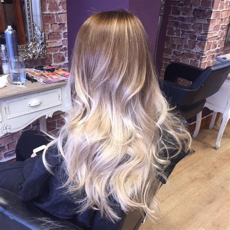 platinum blonde and brown ombre 60 balayage hair color ideas with blonde brown caramel