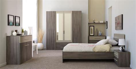 solde chambre a coucher complete adulte chambre adulte compl 232 te contemporaine coloris r 233 glisse