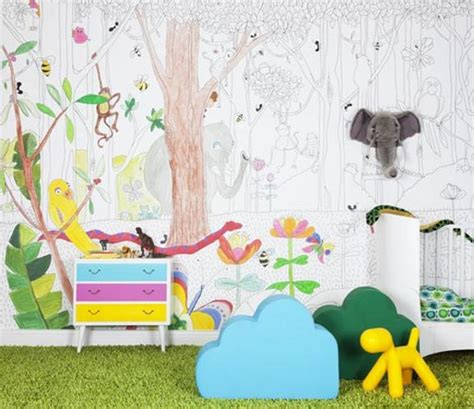 jungle wallpaper room the finest wall decorations for kid s room universal wallpapers
