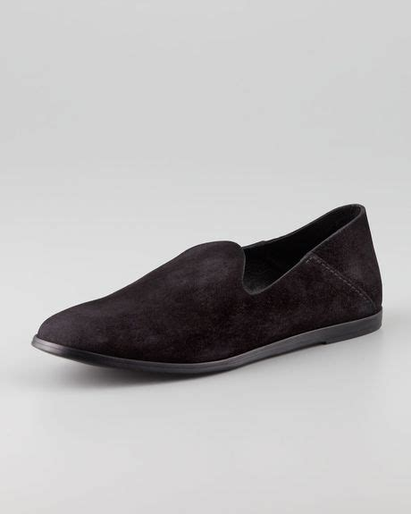 pedro garcia loafer pedro garcia yoshi suede slip on loafer in black lyst