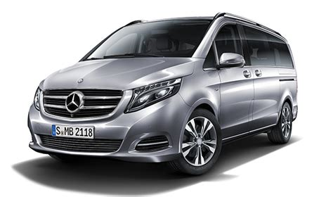 register your the all new mercedes v class
