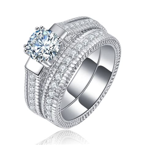 wedding ring sets luxury jewelry drop shipping