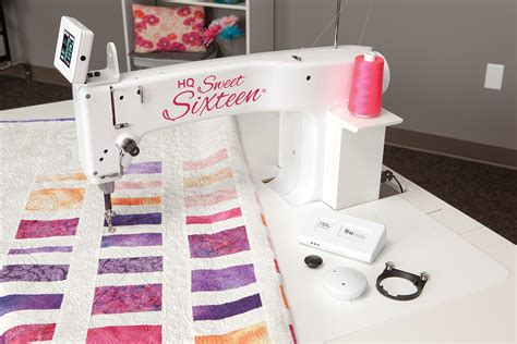 How Much Is A Arm Quilting Machine by Quiltzauberei De Handi Quilter Hq16 Sweet Sixteen
