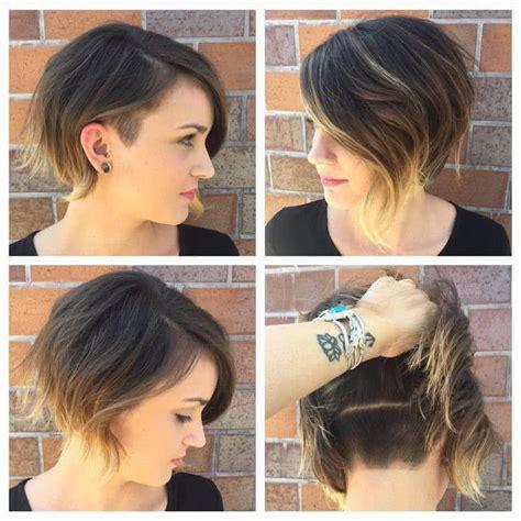 cortes de pelo corto  tendencias  de  fotos