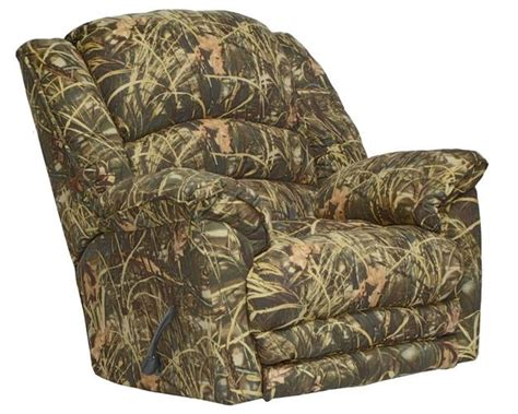 realtree recliner duck dynasty yosemite chaise rocker recliner with heat and