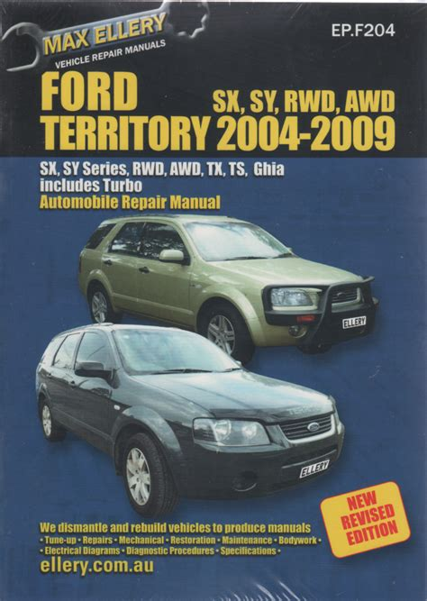 old cars and repair manuals free 2004 ford freestar transmission control ford territory repair manual ellery 2004 2009 new sagin workshop car manuals repair books