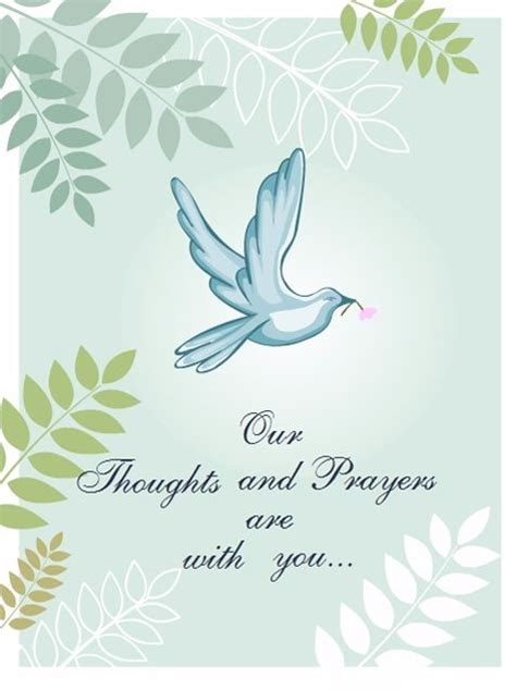 free printable sympathy card template 7 free printable condolence and sympathy cards