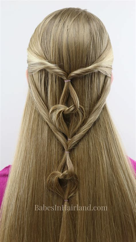 hanging hearts s day hairstyle hairstyle
