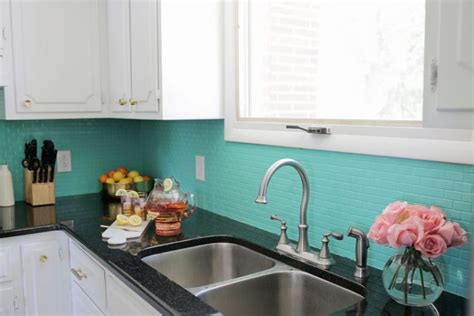 painted kitchen backsplash ideas 8 diy tile kitchen backsplashes that are worth installing shelterness