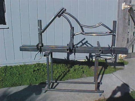 frame jig design bicycle frame jig plans build custom chopper bike or ebay
