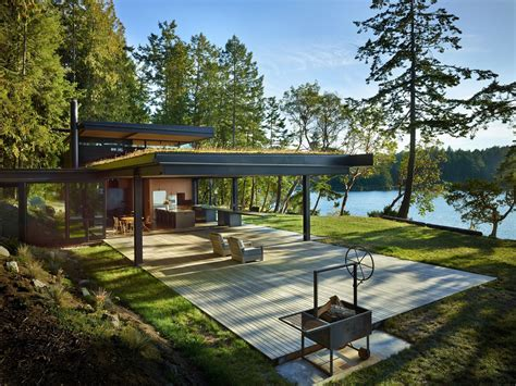 glamorous san juan islands waterfront house 1 idesignarch