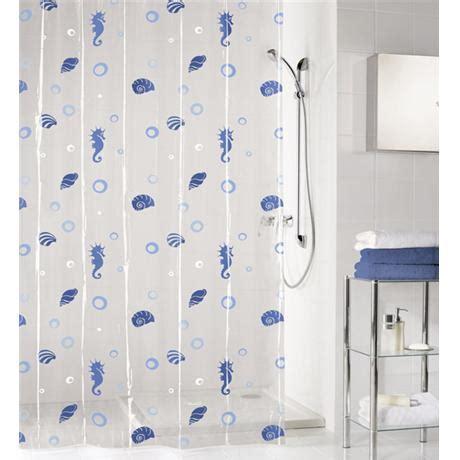blue vinyl shower curtain kleine wolke sandy vinyl shower curtain w1800 x h2000