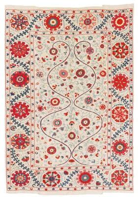 asta tappeti tappeti orientali tessuti arazzi suzani dorotheum