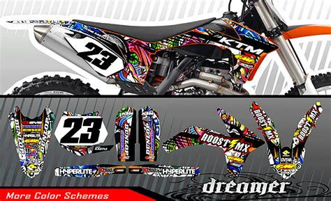 mx graphic templates roost mx motocross graphics new ktm bike