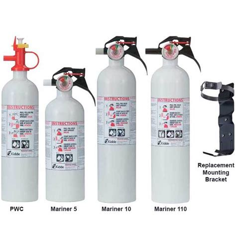 types of fire extinguishers for boats kidde mariner dry chemical fire extinguishers west marine