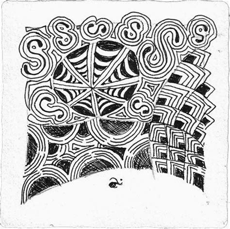 zentangle pattern tidings 50 best images about tangle crescent moon on pinterest