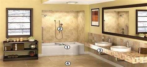 universal bathroom design universal design nj bathroom remodeling