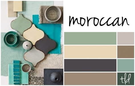 moroccan color scheme for the home