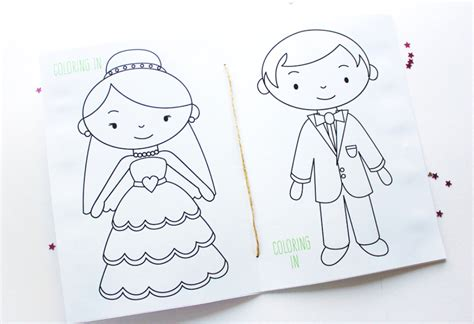 wedding activity book for template free printable wedding activity book