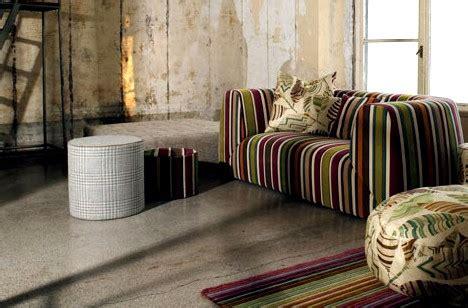 divani missoni divani missoni home stile e ricercatezza arredamente
