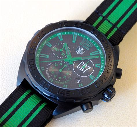 Tangan Tag Heuer Cr7 Chronograph cristiano ronaldo cr7 limited edition tag heuer formula 1 perfection watches swiss