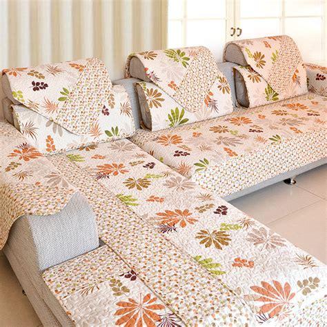 printed couches anti slip sofa cushion cotton fabric fashion quality sofa