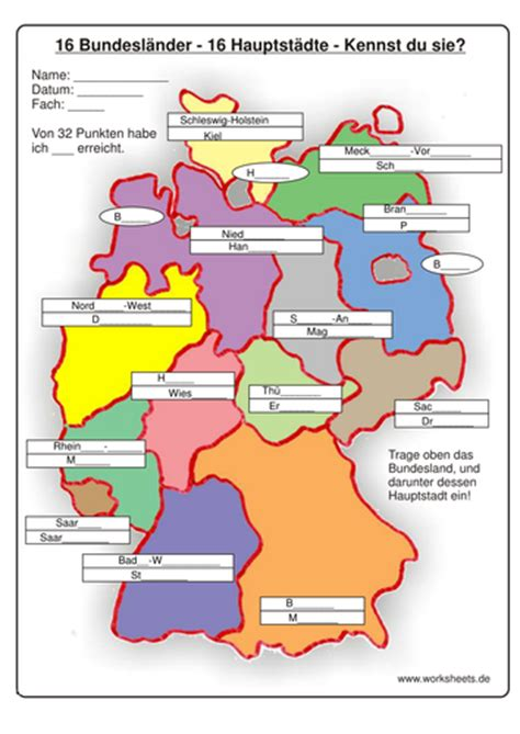 german states and capitals map gap fill map of german states and capitals by embuchanan