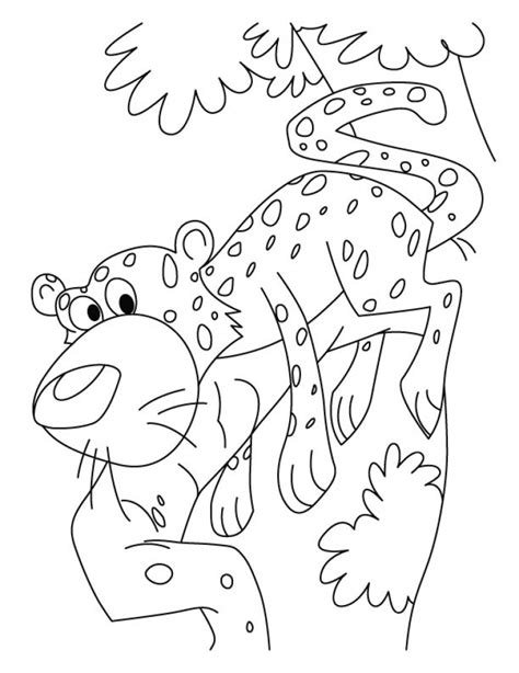 cute cheetah coloring page get this cute baby cheetah coloring pages mt83n