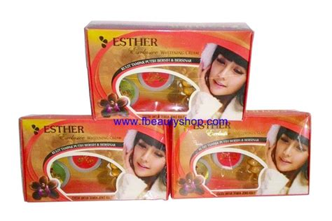 Esther Pemutih Wajah esther exclusive whitening bpom pemutih wajah