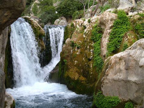imagenes fuentes naturales de agua fonts d algar viajando que es gerundio