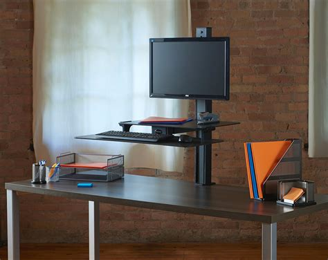 how to a desk taller healthpostures announces the release of a standing desk