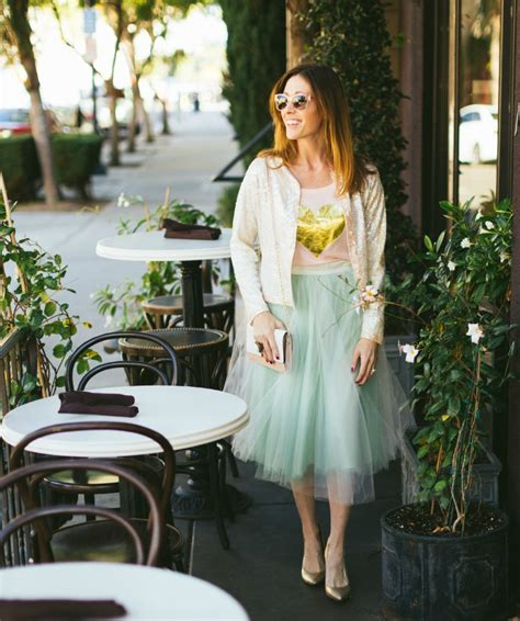 12 Tips On How To Dress For Brunch by Tulle Skirt How To Wear A Tulle Skirt To Brunch
