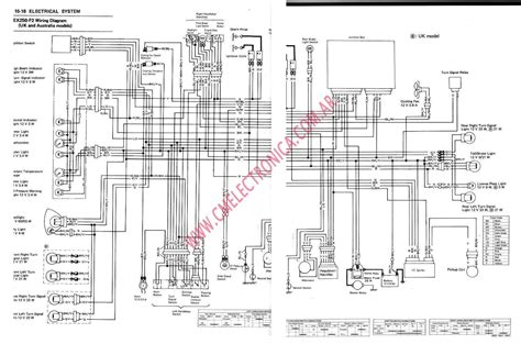 wiring diagram of kawasaki kz400 motorcycle wiring