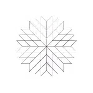 Star Quilt Coloring Pages Lone Colouring Page 2  sketch template