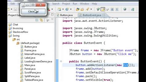tutorial java listener java swing gui tutorial 10 jbutton and actionlistener